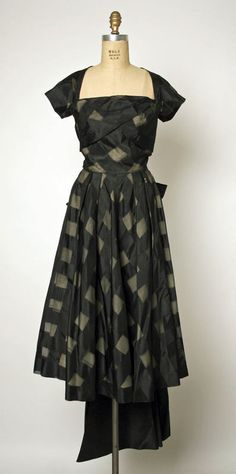 ~Adrian dress ca. 1947~ via The Costume Institute of the Metropolitan Museum of Art