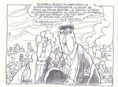 'La basura, el valor de lo que tiras'  Ilustración 'La basura, el valor de lo que tiras' de Mingote, que formó parte en 2008 de la Muestra Internacional de Humor Gráfico de Alcalá.