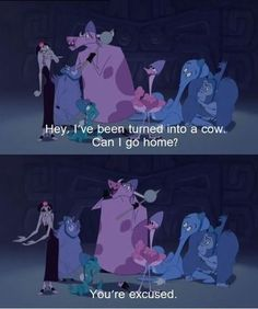 And very considerate of the needs of her evil henchmen. | 24 Reasons Yzma And Kronk Are The Best Disney Characters Ever