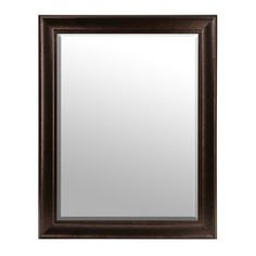 Kids' Bathroom = Distressed Bronze Framed Mirror, 36x46 | Kirklands (Item #129541)
