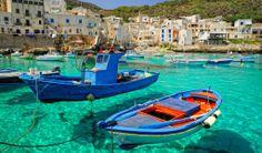 シチリアのレヴァンツォ島