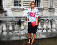 Theresa, Online Editor - What Company wears to London fashion Week