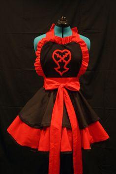 Heartless apron.