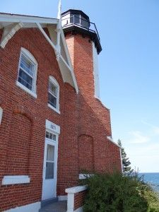Eagle Harbor Lighthouse a Keweenaw Peninsula historical site. Keweenaw Peninsula, Upper Peninsula, Trail Maps, Greatest Adventure, Great Lakes, Historical Sites, Lighthouses, Michigan, Eagle