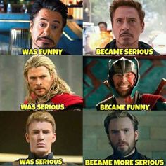 would argue that Thor has always been funny, his movies were just a bit more s. I would argue that Thor has always been funny, his movies were just a bit more s.I would argue that Thor has always been funny, his movies were just a bit more s. Avengers Humor, Marvel Avengers, Marvel Jokes, Funny Marvel Memes, Dc Memes, Meme Comics, Marvel Dc Comics, Marvel Heroes, Thor Meme