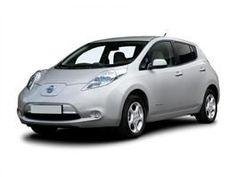 Nissan Leaf Electric Eco car, green cars