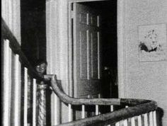 """Keeping with the Amityville theme, here's a famous ghost picture from the infamous home. The story goes that the photo was taken during an investigation helmed by well-known demonologists Ed and Lorraine Warren. The Warrens said no one was home during the time of the photo. Believers speculate the boy is the ghost of a murdered DeFeo child or a demon in disguise. Critics have suggested the """"boy"""" is actually a member of the Warrens' investigation team, Paul Bartz. What do you think?"""