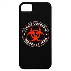 SAVE 20% MEMORIALWK13    iPhone Walking Zombie Response Team Case iPhone 5 Case