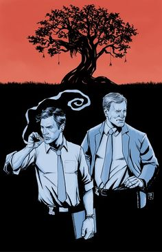 Happy True Detective Sunday11x17 print available here:http://theartofibrahimmoustafa.bigcartel.com/product/time-is-a-flat-circle