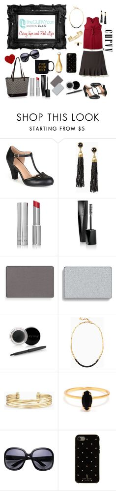 """Curvy Hips & Red Lips"" by toamberroy ❤ liked on Polyvore featuring Journee Collection, Stella & Dot, Mary Kay, Bing Bang, Kate Spade, Christian Dior, contestentry, TheCurvyCon and MyDiaStyle"