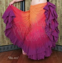 """Gelato"" 25 Yard Petticoat Skirt   You can order yours here: http://www.paintedladyemporium.com/Shop-Here.html"