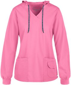 Butter-Soft Pullover Hoodie, Scrub Jackets Yoga Scrub Pants, Jogging, Scrub Jackets, Womens Scrubs, Elastic Waist Pants, Ootd, Drawstring Pants, Jacket Style, V Neck Tops