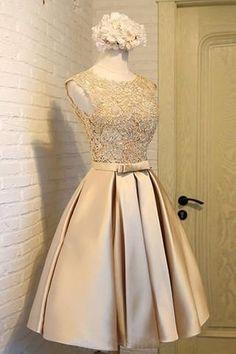 Prom Dresses For Cheap #PromDressesForCheap, Lace Prom Dresses #LacePromDresses