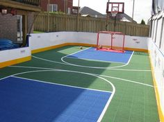 The ice rink in summer?  Sport Court Design Ideas, Pictures, Remodel and Decor