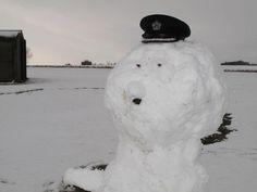 National Museums Scotland im Schnee, Foto: Facebook-Seite des Museums
