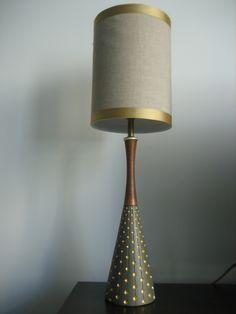 Navy Bean: Lamp Makeover