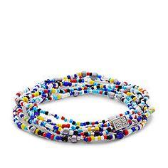 Fossil x Me to We Rafiki Education Beaded Bracelet