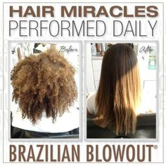 The Brazilian Blowout is an amazing straightener, smoother, split end mender -- come see us! Schedule with one of the stylists at Salons at Stone Gate in Cypress/NW Houston ~ (281) 256-2204 ~www.salonsatstonegate.com #brazilianblowout #hairstraightener #hairsmoother