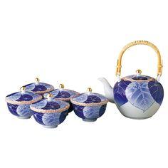(愁海棠)高級茶器セット Tea Pots, Tableware, Dinnerware, Tablewares, Tea Pot, Dishes, Place Settings, Tea Kettles