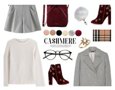 """Cashmere Sweater"" by sleepleisure ❤ liked on Polyvore featuring Helmut Lang, Chicnova Fashion, Wes Gordon, Aquazzura, Mansur Gavriel, Deborah Lippmann, JINsoon, Threshold, Burberry and Anzie"