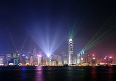 Symphony of light show at Hong Kong. we saw that!