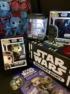 ROGUE ONE STAR WARS SMUGGLER'S BOUNTY (FUNKO POP Complete)