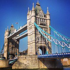 Tower Bridge en London, Greater London