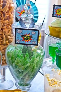 Hostess with the Mostess® - Batman Super Hero Party!