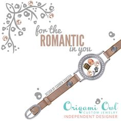 New Leather Wrap Bracelet from Origami Owl! This is perfect for the romantic in your life. #romance #origamiowl #wrapbracelet http://elizabethferree.origamiowl.com/default.aspx