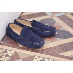 Fowler Blue Moccasins Mens, Loafers, Blue, Shoes, Fashion, Travel Shoes, Moda, Zapatos, Moccasins