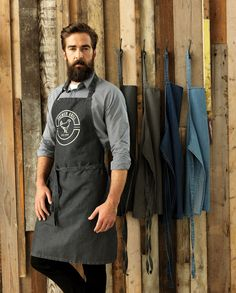 PR150 Denim Apron in four classic jeans shades
