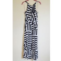 LIKE NEW Gap Striped Maxi Dress Worn once. This dress is super cute and comfy!  : Same day shipping before 5pm CST. : Bundle and save! : Reasonable offers welcome. : Comes from pet/smoke free home. : No trades. GAP Dresses Maxi