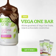 "we love @VegaTeam #vegaone bars.... ""All-in-one. On-the-go"". plant-based protein packed with essential nutrients, antioxidants, vitamins and minerals that your body craves and needs with 15 grams of complete protein, 6 grams of fiber, and 1.5 grams of Omega-3."