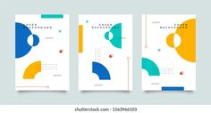 Portfólio de fotos e imagens stock de Novendi Prasetya | Shutterstock Memphis, Graphic Design Brochure, Event Banner, Digital Art Tutorial, Stationery Design, Portfolio, Editorial Design, Art Tutorials, Cover Design
