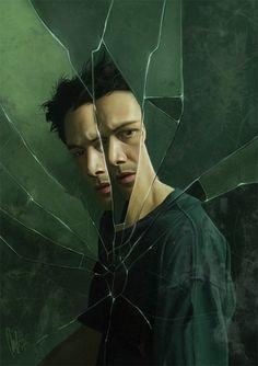 The Matrix (Lana & Lilly Wachowski, - Keanu Reeves Movie Poster Art, Film Posters, Keanu Matrix, Keanu Reeves Matrix, Science Fiction, The Matrix Movie, Keanu Charles Reeves, Movies And Series, Movie Posters