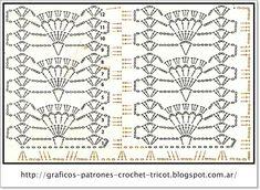 Crochet Doily Diagram, Crochet Stitches Patterns, Crochet Chart, Knitting Stitches, Crochet Doilies, Crochet Lace, Free Crochet, Stitch Patterns, Knitting Patterns
