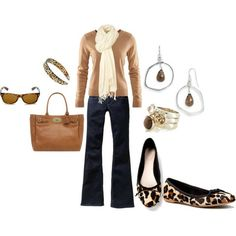 Casual classic look