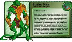 Snake Men  Evil Foot soldier of King Hiss!!!!! (Masters of the Universe) Custom Action Figure