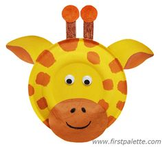 cut out paper animals | ... paper plate animals. More ideas for making these animals are presented