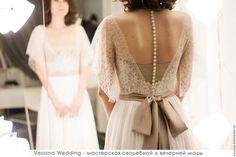 Одежда и аксессуары ручной работы. Свадебное платье из шелка. VESSSNA WEDDING. Ярмарка Мастеров. Свадебное платье корсетом