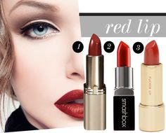 how to wear bold lipstick – Thoughts By Natalie Bold Lipstick, Red Lipsticks, Holiday Nails, Christmas Nails, Burgundy Nails, Makeup To Buy, Gold Makeup, Gold Nails, Hair And Nails