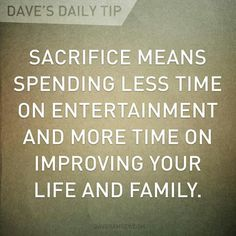Put down the video games, sports cars, hobbies and whatever else STEALS time from your loved ones.