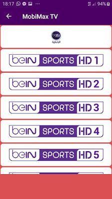 تحميل تطبيق Mobimax TV.apk الجديد لمشاهدة القنوات المشفرة و الافلام لاصحاب النت الضعيف 2020 Free Live Tv Online, Live Tv Free, Lista Iptv Portugal, Ben Sports, Ver Tv Online, Watch Tv For Free, Free Online Tv Channels, Mexico World Cup, Free Playlist