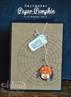 Creations by Mercedes: September Paper Pumpkin Night Stampin' Up!
