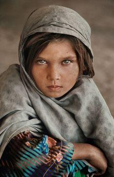 Young girl, Ghazni, Afghanistan, 1990
