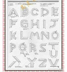 Best 11 Crochet Pattern For Every Letter In The Alp - Crochet Quilling Ideas Crochet - Diy Crafts Appliques Au Crochet, Crochet Motifs, Crochet Diagram, Crochet Chart, Crochet Stitches, Crochet Patterns, Crochet Symbols, Crochet Basics, Applique Patterns
