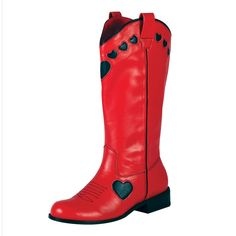Red Cowgirl Boots | ... View All › T.U.K. Shoes › T.U.K. Shoes Cowgirl Boots Red & Black
