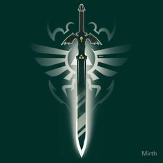 """""""Master Sword solo"""" T-Shirts & Hoodies by Mirth 