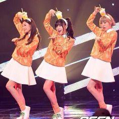 Orange Caramel - Catallena (Nana, Raina, Lizzy) <3
