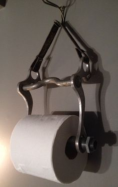 Horse Bit Toilet Paper Holder on Etsy, $10.00